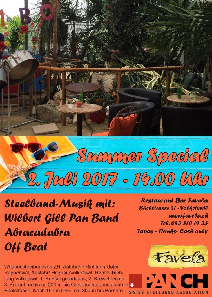 favela flyer summer special